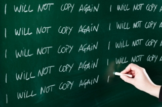 I will not copy again