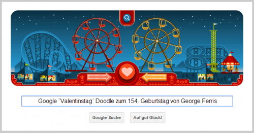 Google Doodle für George Ferris