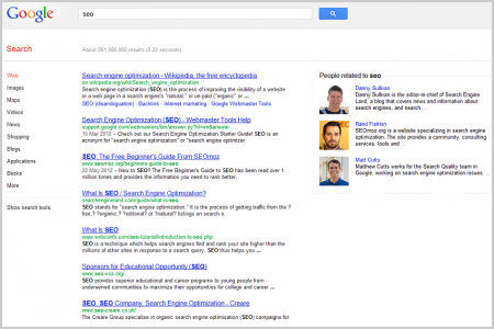 Personalisierte Suchergebnisse