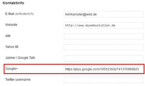 Plugin Google Authorship Yoast