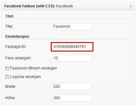 Plugin Facebook Fanpage