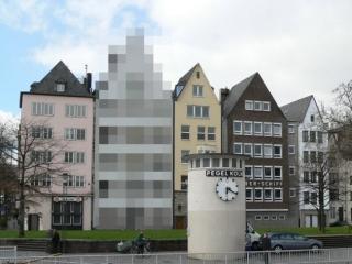 Verpixeltes Haus bei Google Street View