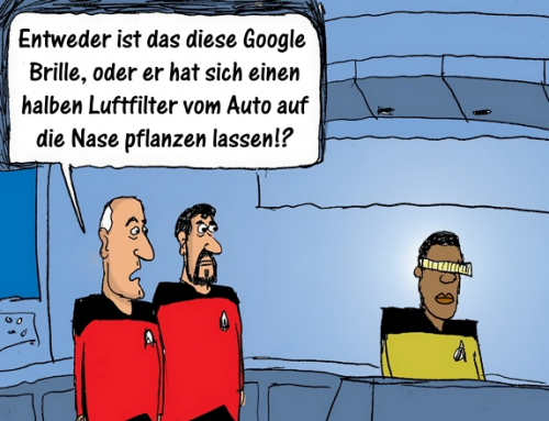 Beam me up, Google!