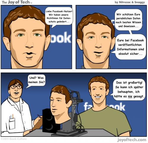 Liebe Facebook-Nutzer!