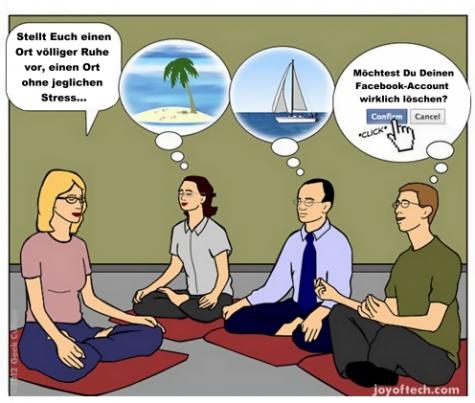Stressfaktor Facebook