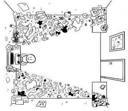 Kinderzimmer mit Webcam