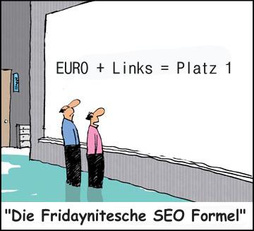 Die Fridaynitische SEO Formel
