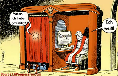 Google-Beichte