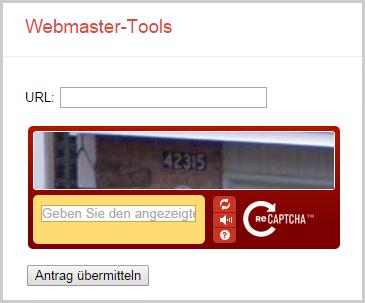 Webseite bei Google eintragen