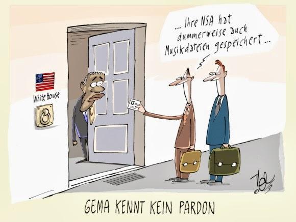 GEMA vs. NSA
