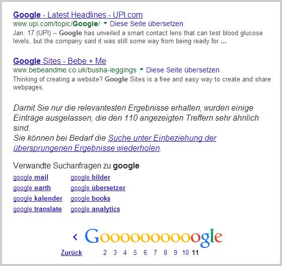 Breaking google reduziert anzahl der suchergebnisse for Google spiegel