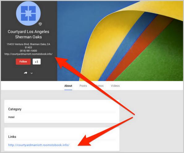 Google+ Local Eintrag