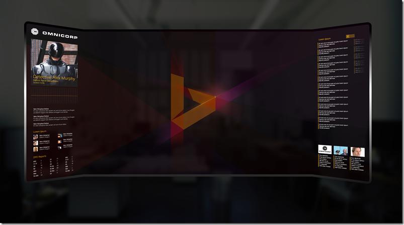 Finale Version der Zukunftsvision der Suche von Bing