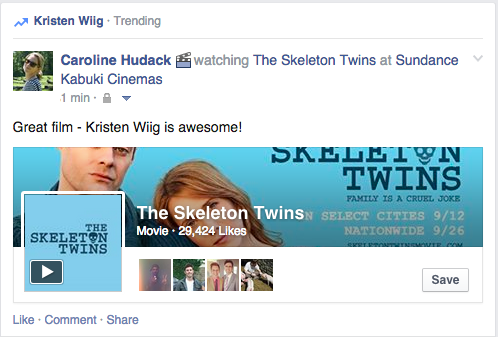 Trending Topic bei Facebook
