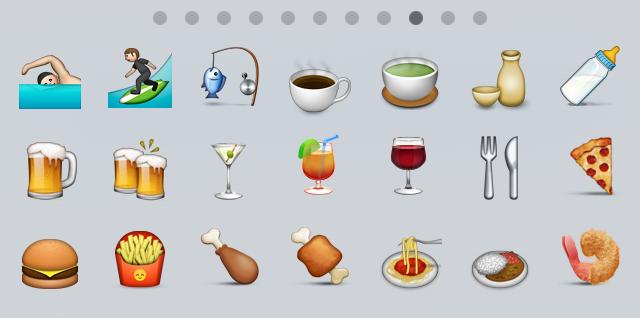 Emojis von Apple