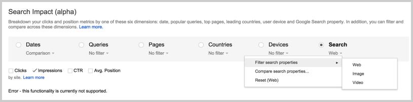 Google Search Impact - Search