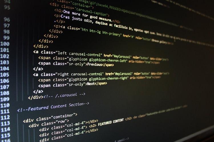 Quellcode einer Webseite