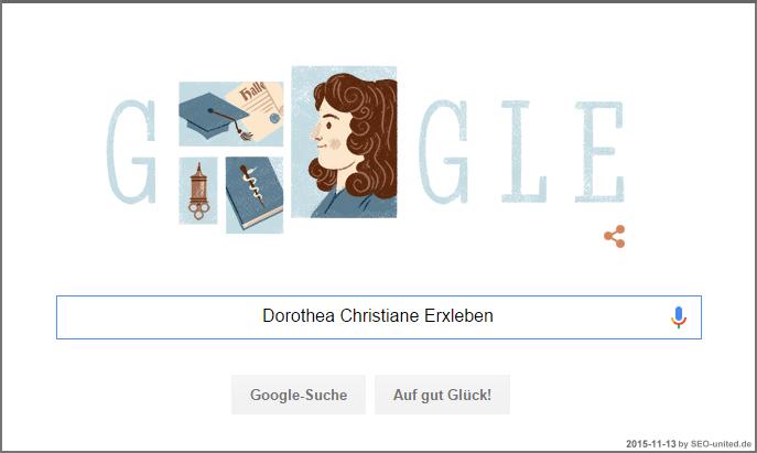 Dorothea Christiane Erxleben Google Doodle
