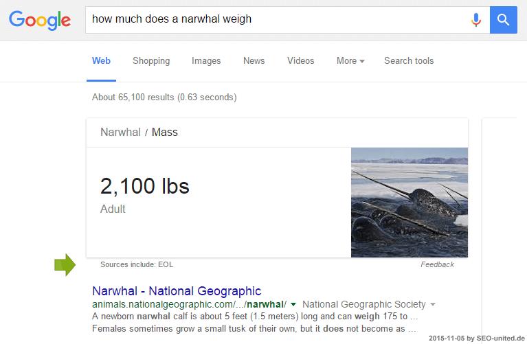 EOL bei Google