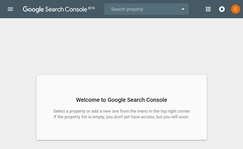 Search Console Beta online für alle