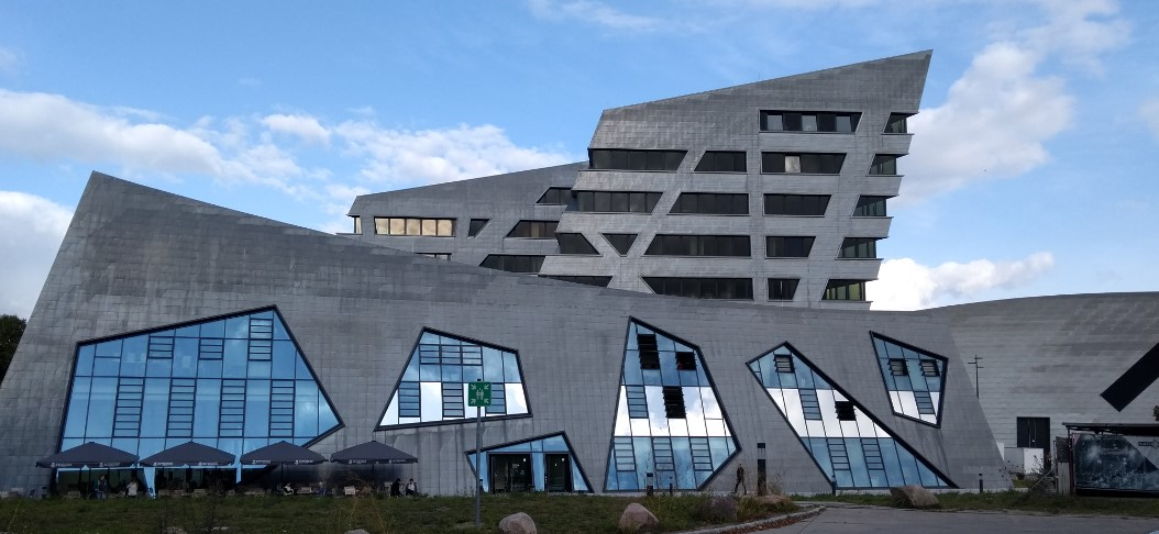 Leuphana University building by Stararchitetk Daniel Libeskind