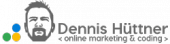 Dennis Huettner - online-marketing & coding Logo