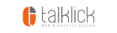 talklick web & graphic design Logo